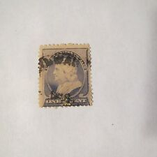 "1~VTG~ 1 Cents U.S. Postage Stamps ""REGULAR ISSUE FRANKLIN"" #212 1887 Used"
