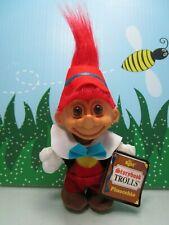 "Pinocchio - 5"" Russ Troll Doll - New Store Stock"