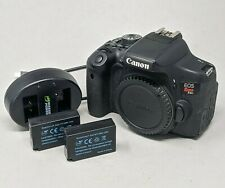 Canon EOS Rebel T6i 24.2MP DSLR Camera - Black (Body Only) - Read Description