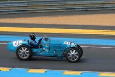 Bugatti Type 35 B no21 Le Mans Classic 2018 Motorsport Photograph Picture