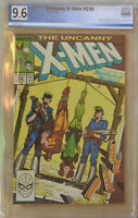UNCANNY X-MEN #236 (Oct 1988 | Marvel) PGX 9.6 (NM+) Like CGC - White Pages
