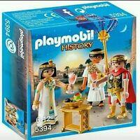 CJ5394 Cleopatra y Marco Antonio 5394 Playmobil romano,César