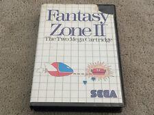 Fantasy Zone 2   Sega Master System   Rare Game