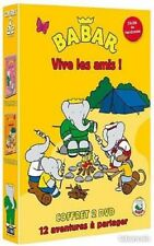 Coffret 2 DVD Babar Vive les amis Vol 1 et 2 NEUF sous cellophane