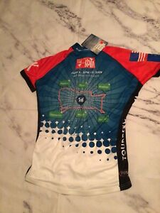 NEW PRIMAL WEAR RACE TOURING RIDE CYCLING Jersey Women's L