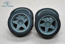 1/24 wheels 18 inch AZEV A with tires for Tamiya Aoshima Hasegawa