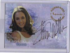 Buffy Vampire Slayer Reflections Autograph card Eliza Dushku auto Faith A2