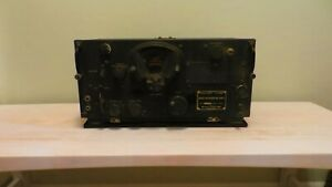 US Army Signal Corps BC-348-K Radio Receiver Belmont Radio Corp. Chicago IL