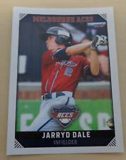 Jarryd Dale 2018/19 Australian Baseball League card - Melbourne Aces