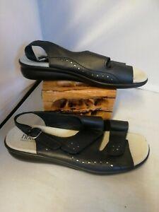 Ladies Hotter sandals size uk 8 Navy Blue