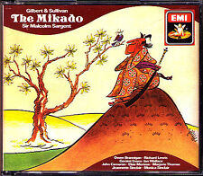 GILBERT & SULLIVAN: THE MIKADO Malcolm SARGENT 2CD Owen Brannigan Richard Lewis