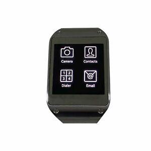 Samsung Galaxy Gear Smart Watch Andriod Tizen Bluetooth Mocha Grey V700 Wearable