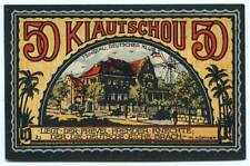 Deutsche Kolonien - Kiautschou - Tsingtau, Deutscher Klub - 50 Pfennig 1922