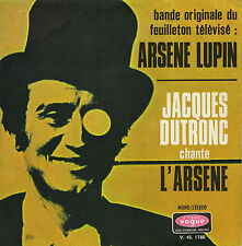 TV OST ARSENE LUPIN L'ARSENE / STERCOK JACQUES DUTRONC FRENCH 45 SINGLE