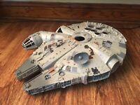 Vintage Millenium Falcon Ship Star Wars Works 1995 Tonka