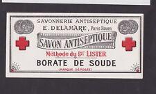 ancienne étiquette de savon BN24501 Savon antiseptique Delamara