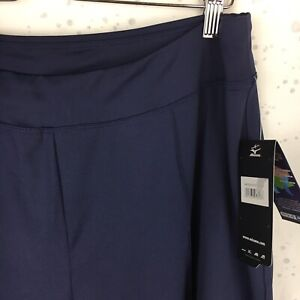 NEW Mizuno DryLite Women's Size XL Elite 9 Volleyball Pants Navy Blue NWT