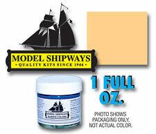 Model Shipways 1oz. Bottle -Deck Cream Paint for Wood Models & Historic Ships