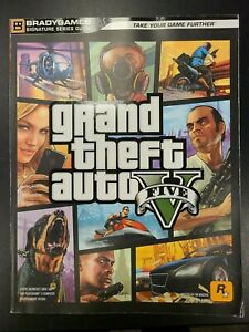 Grand Theft Auto V Brady Games Official Paperback Game Guide
