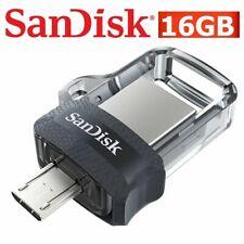 Micro USB Drive Dual 3.0 SanDisk 32GB 64GB 128GB 16G 256G Flash Drive OTG Memory