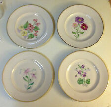 Arabia of Finland Porcelain Hand Painted Fruit Plates - Set of Four