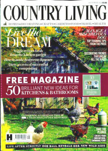 COUNTRY LIVING MAGAZINE SEPTEMBER 2021 WITH FREE MAG ~ NEW ~