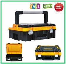 Dewalt Small Parts Tool Storage Organizer Stackable 7-Compartment Long Handle