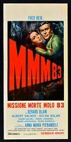 Plakat MMM83 Mission Tod Pier 83 Gerald Blain Albert Dables Sylvia L18