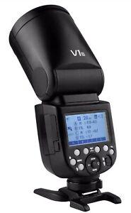 New Godox V1-N for Nikon 2.4G TTL Li-ion Round Head Camera Flash Speedlite