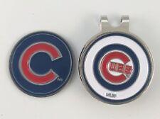 Major League Baseball MLB Golf Hatclip Chicago Cubs Ballmark Silver