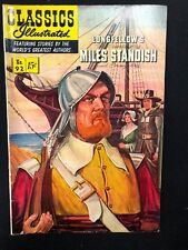 Classics Illustrated #92 Miles Standish Longfellow (Hrn 92) 1st 1952 Vg+/Fine-