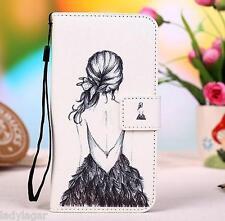 Custodia libro stampato pelle sintetica portabiglietti per Jiayu G3C