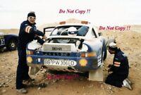 Kussmaul & Unger Rothmans Porsche 959 Paris-Dakar Rally 1986 Photograph 1