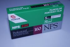 New listing Fujicolor Nps 220 Professional 160 Pack of 5 Rolls Exp. 2004-02 Kept Cool.
