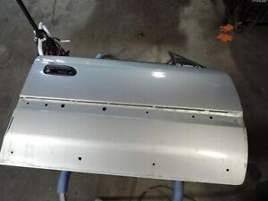 Subaru Outback Legacy Baja Front Right Door Shell 2000-2004 Silver Paint