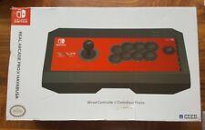 Hori Nintendo Switch Arcade Pro V Hayabusa lucha palo Nintendo Switch Probado