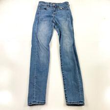 American Eagle Jegging Hi Rise Jegging Stretch Blue Jeans Size 2 Regular