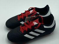 Adidas Goletto VI FG Junior Soccer Cleats G26367 - Black, Red Kids Size 1Y Youth