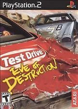 Test Drive: Eve of Destruction (Sony PlayStation 2, 2004) PS2 COMPLETE Free Ship
