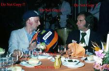 Niki Lauda & Emerson Fittipaldi retrato argentino Grand Prix 1977 fotografía