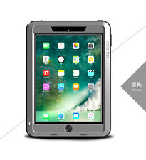 Coque antichoc IPAD  9.7 new 2017  LOVE MEI FRANCE - étanche - Gris