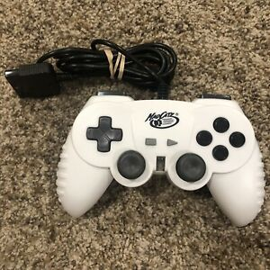 Madcatz Playstation PS1 PS2 Wired Remote Control Red USED Rare