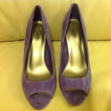 M&S Twiggy peep-toe-stelitto-high-heel-court-with-insolia Size 5.5