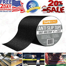 """Safety Anti Slip Tape Rubberized 4"""" X 30' Roll Non Skid Stairs Grip Boat Step"""