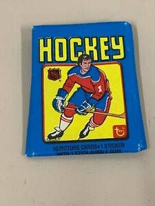 1979 Topps Hockey Wax Pack. Opened with Mint cards.
