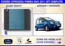 Coprisedili Fiat Panda 2003>2011 4x4 Cross Gpl Metano Fodere copri sedili sedile