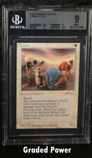 BGS Arabian Nights Camel   9  (7082) Quad ++ Magic Beckett Graded MTG