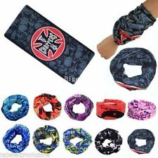 12 pc Bandana Bikers Motorcycle Riding Neck Face Mask Protection Tube Head Bands