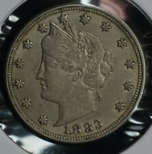 1883 No Cents V Nickel Five Cent 5C Coin