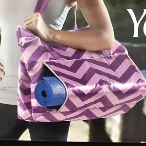 Yoga Tote 24 inch By Lotus Quilted Storage Pouches New Unused In Package